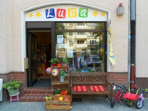 Luna - Ladenschild